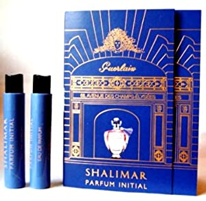 SHALIMAR PARFUM INITIAL by Guerlain (2x) Eau De Parfum 1ml-0.03fl.oz Sample Vial Spray. For Women