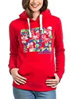 JACK WILLIAMS Sudadera con Capucha (Rojo)