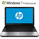 "HP Black 15.6"" anti-glare Laptop with AMD Quad-Core A8-6410 Processor, 4GB Memory, 500GB Hard Drive and Windows 7 professional(Windows 8.1 Pro License Included)"