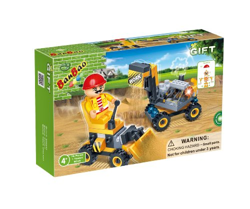 BanBao Mini Construction Set Building Set, 75-Piece