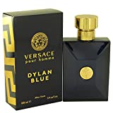 Vërsäce Põur Hõmme Dylän Bluê Cologné for Men 3.4 oz Eau de Toilette Spray +Free W.Blué Vial