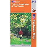 Telford, Ironbridge and the Wrekin (Explorer Maps) (OS Explorer Map)by Ordnance Survey