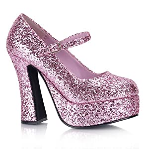 Dolly pumps from pleaser in a variety of crazy colors and glitters