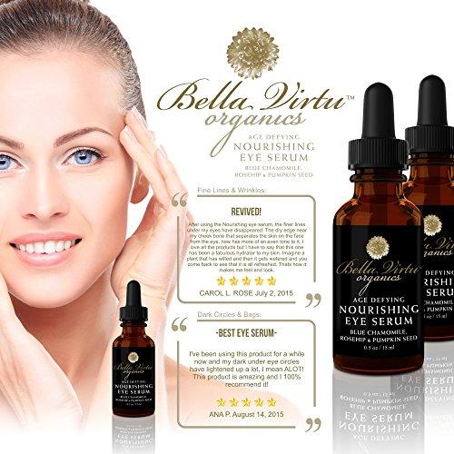 Natural Skin Care Eye Serum Bella Virtu