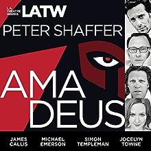 Amadeus Performance by Peter Shaffer Narrated by Steven Brand, James Callis, Michael Emerson, Darren Richardson, Alan Shearman, Mark Jude Sullivan