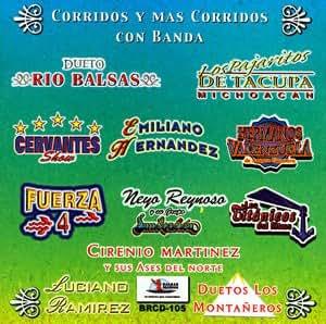 Varios Artistas (Corridos Y Mas Corridos Con Banda)