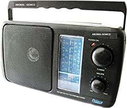 GEMCO AROMA 2 CELL 5 BAND RADIO FM SW MW PLAYER