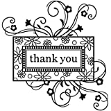 Inkadinkado Thank You Frame Clear Stamp
