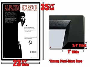 Framed Scarface Movie Poster Al Pacino Mint Fr757