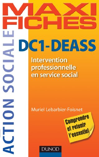 DC1 Intervention professionnelle en service social DEASS