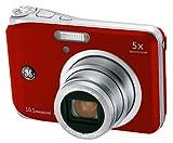 GE デジタルカメラ A1050 レッド A1050R