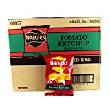 Walkers Crisps Tomato Ketchup x 48 1560g