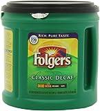 Folgers Classic Decaf Medium Roast - Makes 270 cups - 33.9oz (2lb 1.9oz) 961g