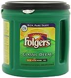 Folgers Classic Roast Decaffeinated Ground Coffee, 33.9-Ounce Units