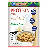Kay's Naturals Protein Cereal, French Vanilla, 1.2 ounces (Pack of 6)