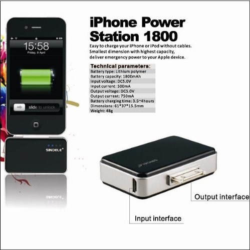 Sinoele TS-256 1800 mAh Power Bank