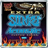 Ernie Ball Extra Slinky (0.10 - 0.50) Acoustic Guitar Strings