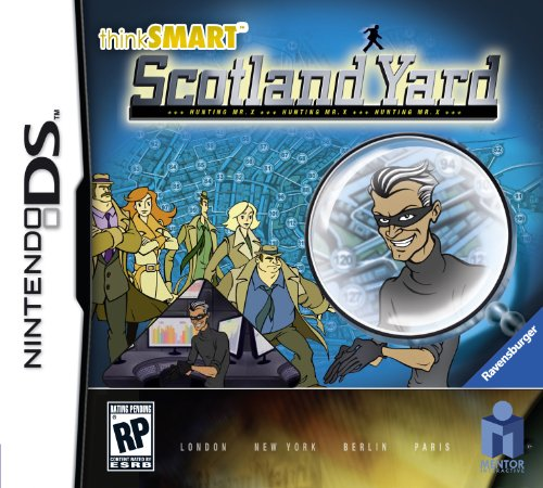 thinkSMART Scotland Yard - Nintendo DS - 1