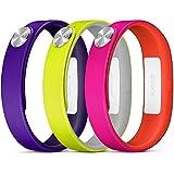 Sony Mobile Small A1 SmartBand Wrist Straps - Purple/Yellow/Pink