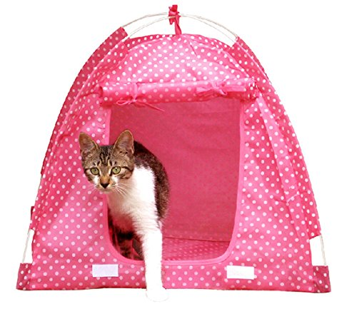 Summer Foldable Waterproof Durable Pet Tent Dog Bed House