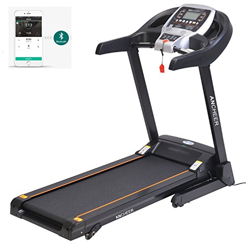 Ancheer Folding Electric Exercise Treadmill