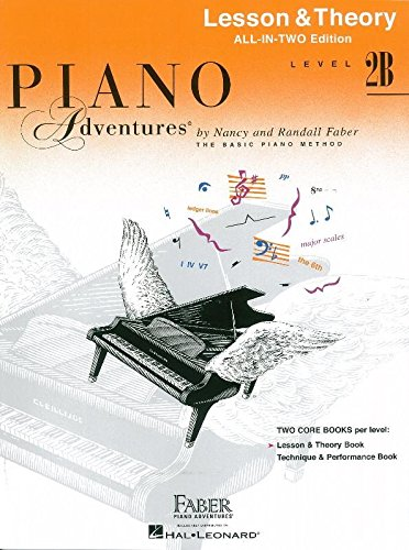 Faber Piano Adventures: Level 2B Lesson and Theory Book