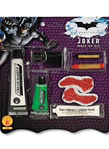 Deluxe Joker Make-Up Kit Costume Accessory