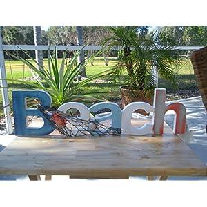 51a-xqHSXLL._SS300_ 100+ Wooden Beach Signs & Wooden Coastal Signs