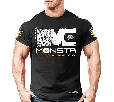 Monsta Clothing Co. Men's Monsta: Unda Construction (TEE18) T-shirt