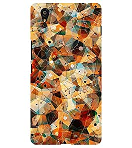 Chiraiyaa Designer Printed Premium Back Cover Case for Oneplus X one plus x (colorful pattern) (Multicolor)