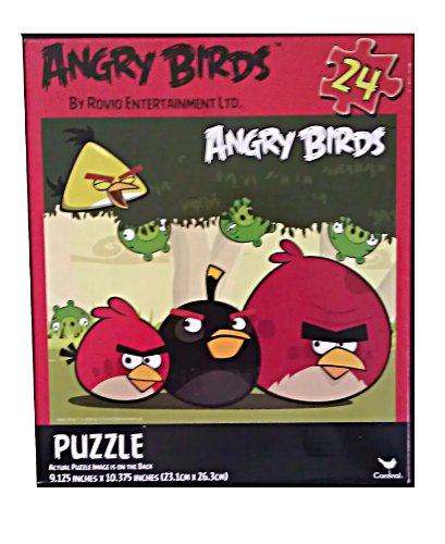 Angry Birds 24 Piece Jigsaw Puzzle - 1