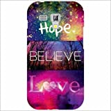 Samsung Galaxy S Duos 7562 Back Cover - Silicon Belive Designer Cases