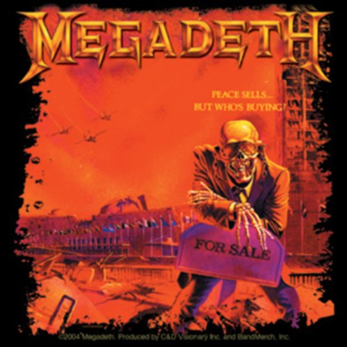 Licenses Products Megadeth Peace Sells Sticker
