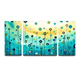 SR Abstract Balloon 3 pcs/set 100% Hand Painted Oil Paintings Home Decoration With Wood Framed Artwork And Read To Hang Modern Canvas Art Wall Decor