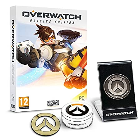 Overwatch Origins Edition - 'Memory of War' Metal Coin & Metal Badge Bundle (Exclusive to Amazon.co.uk) (PC DVD)