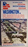 img - for Washington in Flashmaps [ 1975 ] An Instant Guide (Official Bicentennial Edition, 46 flashmaps: buses, restaurants, hotels, museums, national monuments) book / textbook / text book