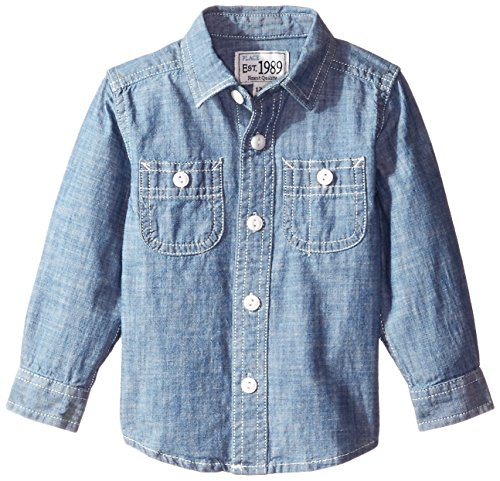 The children 39 s place baby boys lb long sleeve chambray for Cuisine you chambray