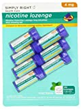 Simply Right Nicotine Lozenge 4mg 189 ct Mint / Previously Member's Mark