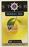Herbal Tea-Meyer Lemon Stash Tea 20 Bag