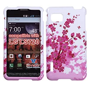 MYBAT LGLS720HPCIM025NP Slim and Stylish Protective Case for the LG Optimus F3 LS720 - Retail Packaging - Spring Flowers