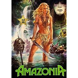 Amazonia (White Slave, Schiave bianche) [VHS Retro Style DVD] 1985
