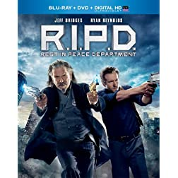R.I.P.D. (Blu-ray + DVD + Digital HD with UltraViolet)