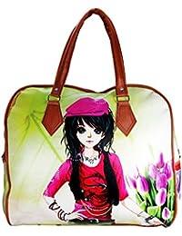 Apnav Girl Digital Print Handbag Cum Shopping Bag
