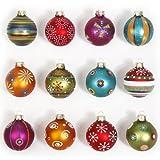Weihnachtskugeln basteln und christbaumkugeln selbst gestalten und verzieren - Weihnachtskugeln selbst gestalten ...