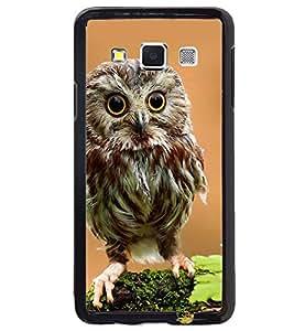 Printvisa Owl On A Tree Branch Back Case Cover for Samsung Galaxy A3::Samsung Galaxy A3 A300F