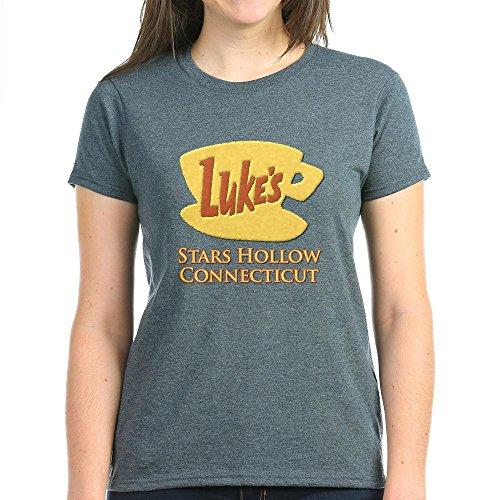 CafePress Luke's Diner Stars Hollow Gilmore Girls Women's Da Women's Dark