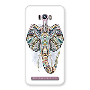 Unicovers Colorful Ganesha Back Case Cover for Zenfone Selfie