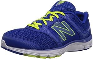New Balance Women's W850V1 Running Shoe,Blue/Yellow,8 B US