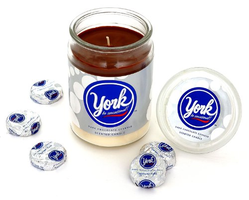 Hershey's by Hanna's Candle 17-Ounce York Peppermint Jar Candle