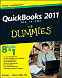 Stephen L. Nelson Quickbooks 2011 All-in-One for Dummies (US Edition)